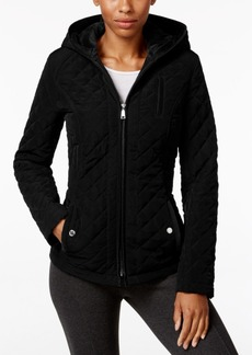 Laundry by Design Faux-Fur-Lined Hooded Quilted Jacket