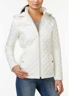 Laundry by Design Hooded Diamond Quilted Jacket