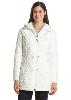 Laundry by Design Hooded Quilt Bib Anorak Jacket