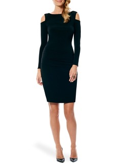 Laundry by Shelli Segal Cold Shoulder Jersey Body-Con Dress