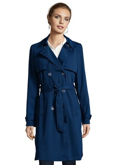 Laundry by Shelli Segal Crepe Trench