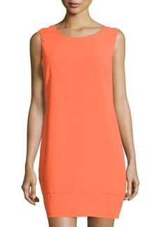 Laundry by Shelli Segal Cutout-Back Sleeveless Sheath Dress