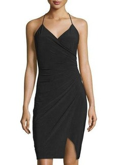 Laundry by Shelli Segal Jersey Faux-Wrap Dress
