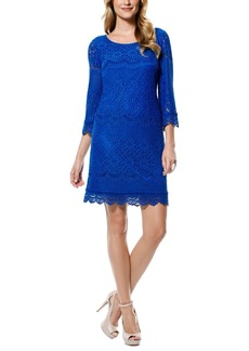 Laundry by Shelli Segal Lace Sheath Dress (Regular & Petite)