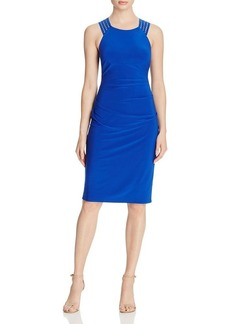 Laundry by Shelli Segal Ladder Stitched Dress