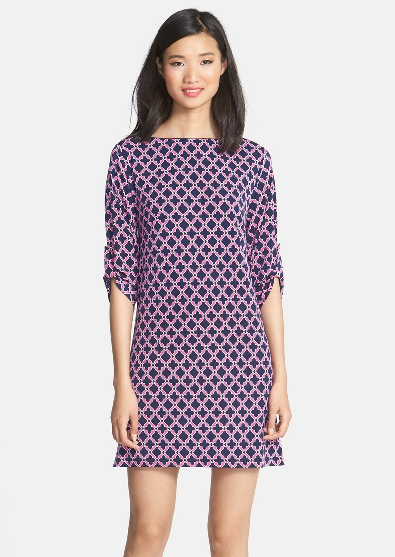 Laundry by Shelli Segal Medallion Print Jersey Dress (Petite)