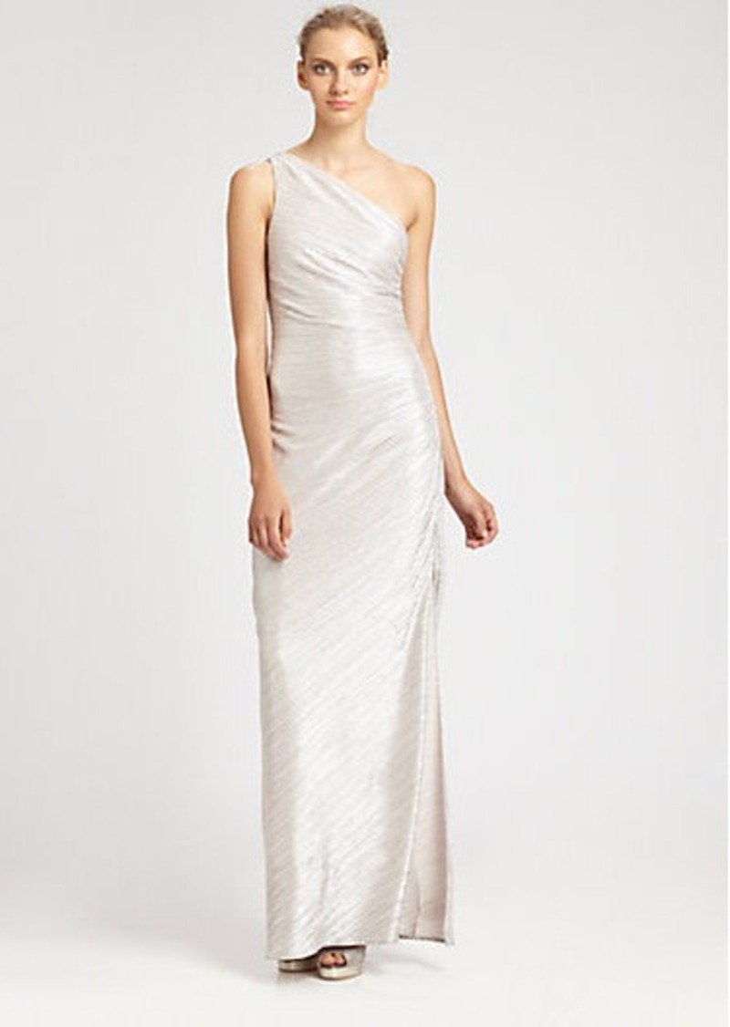 Laundry by Shelli Segal Metallic Gown