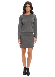 Laundry by Shelli Segal Open Back Sweater Dress