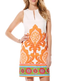 Laundry by Shelli Segal 'Orange Door' Print Shift Dress