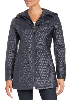 LAUNDRY BY SHELLI SEGAL Quilted Anorak Jacket