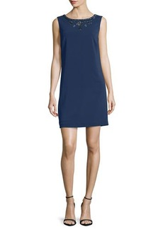 Laundry by Shelli Segal Sleeveless Embellished Cocktail Dress