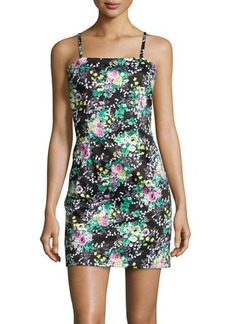 Laundry by Shelli Segal Sleeveless Floral-Print Dress