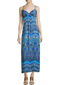 Laundry by Shelli Segal Sleeveless Printed Maxi Dress