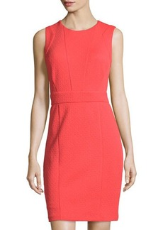 Laundry by Shelli Segal Sleeveless Textured Knit Dress