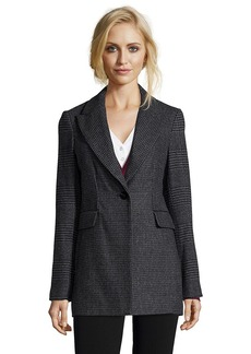 Laundry by Shelli Segal Tilbury check wool coat