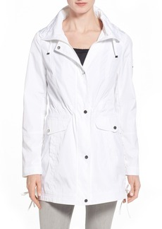 Laundry by Shelli Segal Windbreaker with Lace-Up Sides