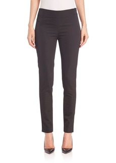 Lela Rose Catherine Stretch Sateen Pants