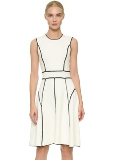 Lela Rose Sleeveless Knit Dress