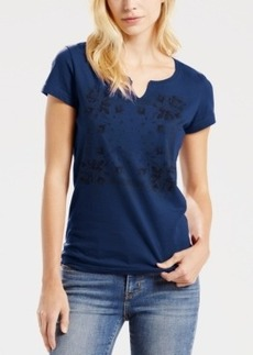 Levi's Split-Neck Printed T-Shirt