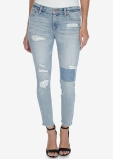 Lucky Brand Americana Brooke Ripped Skinny Pico Rivera Wash Jeans