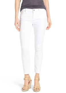 Lucky Brand 'Brooke' Stretch Ankle Skinny Jeans (White Cap)