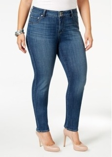 Lucky Brand Emma Medium Blue Wash Straight-Leg Jeans