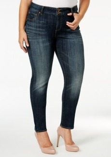 Lucky Brand Emma Navy Wash Straight-Leg Jeans