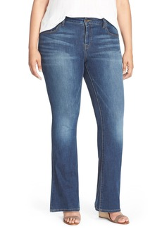 Lucky Brand 'Ginger' Bootcut Jeans (Amazonite) (Plus Size & Petite Plus)