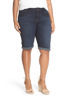 Lucky Brand 'Ginger' Stretch Denim Bermuda Shorts (Bradford) (Plus Size)