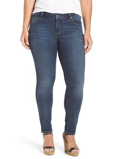 Lucky Brand 'Ginger' Stretch Skinny Jeans (Plus Size)