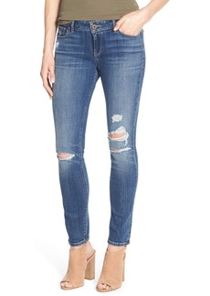 Lucky Brand 'Lolita' Distressed Stretch Skinny Jeans (Morrison)