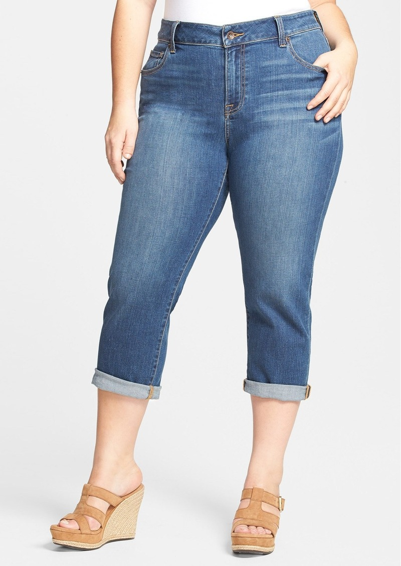 Lucky Brand 'New Ginger' Crop Jeans (Plus Size)