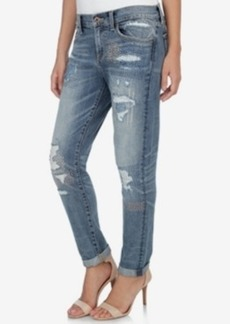 Lucky Brand Sienna Ripped Desert Hot Wash Boyfriend Jeans