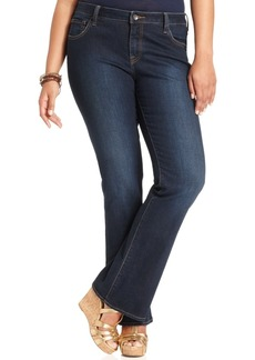 Lucky Brand Trendy Plus Size Ginger Bootcut Jeans, Randelman Wash