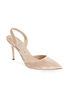 Manolo Blahnik 'Carolyn' Slingback Pump (Women) (Nordstrom Exclusive Color)