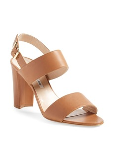 Manolo Blahnik 'Khan' Two Strap Sandal (Women)