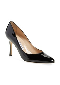 Manolo Blahnik 'Lisa' Patent Pump (Women)