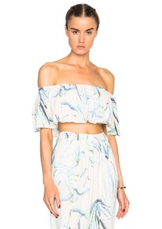 Mara Hoffman Aloe Crop Top
