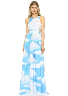 Mara Hoffman Cloud Racer Back Dress