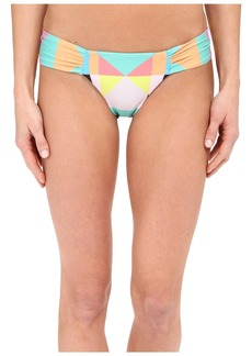 Mara Hoffman Diamond Side Ruched Bottom