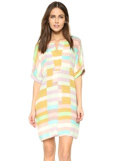 Mara Hoffman Flag Stripe Dress
