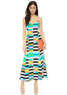 Mara Hoffman Flag Stripe Tie Back Dress
