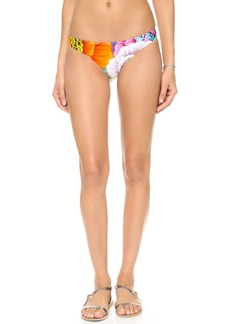 Mara Hoffman Flora Blue Reversible Low Rise Bottoms