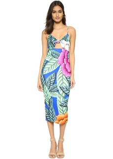 Mara Hoffman Flora Tie Front Dress