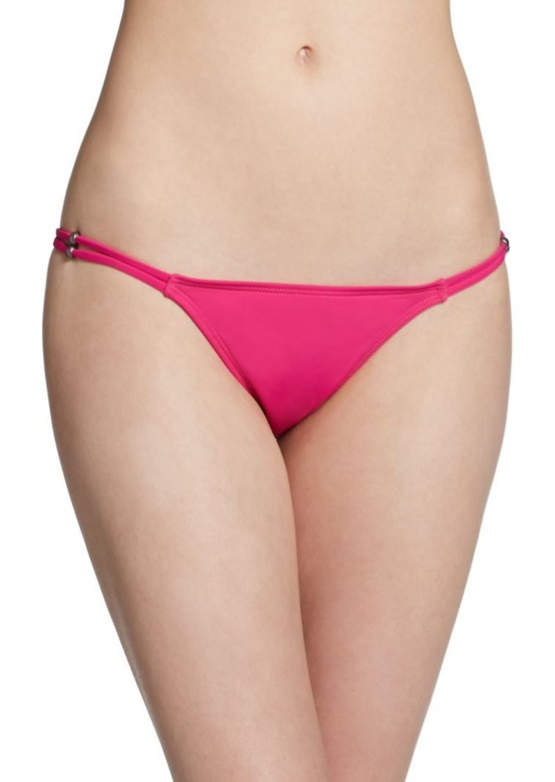 Mara Hoffman Fringe String Bikini Bottom