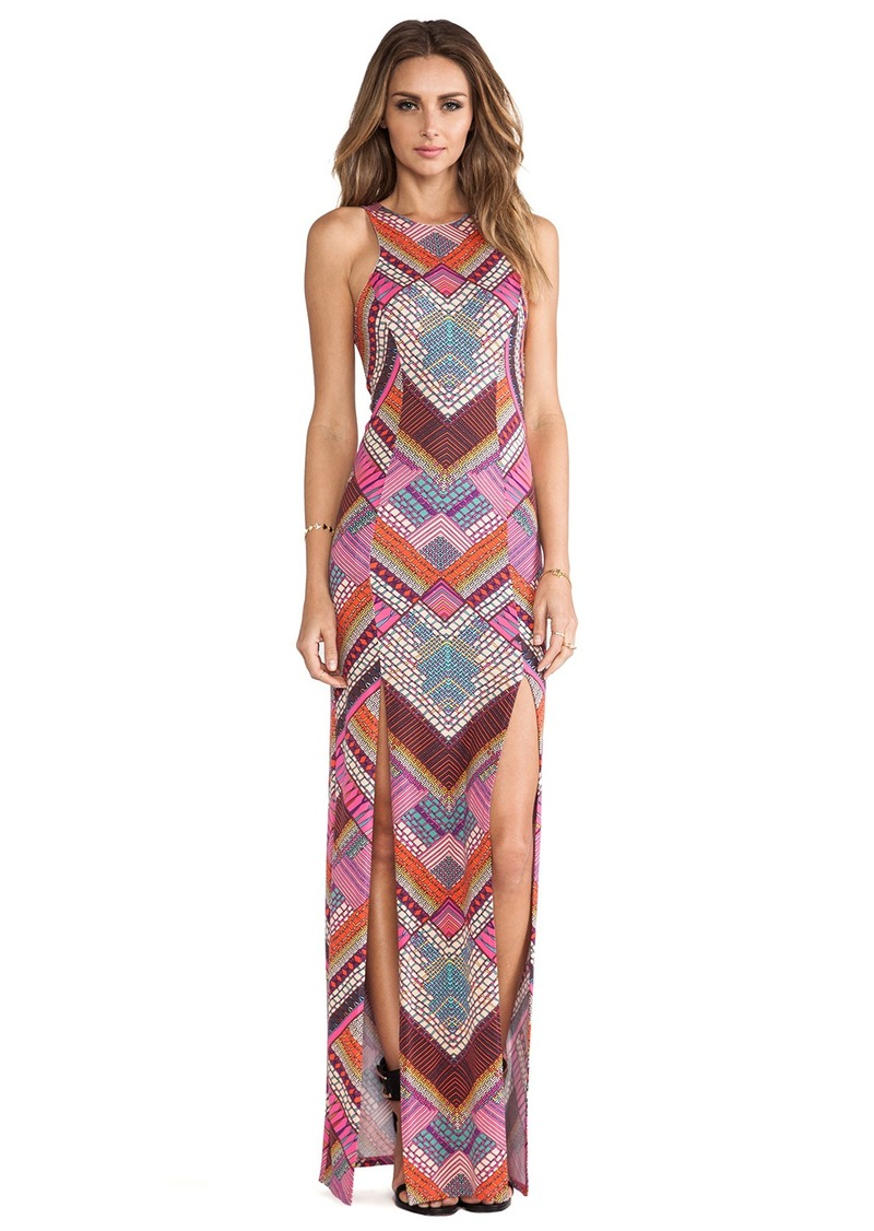 Mara Hoffman High Slit Maxi Dress