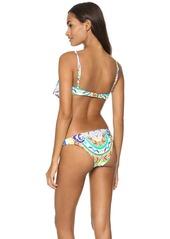 Mara Hoffman Jungle Trip Cropped Bikini Top