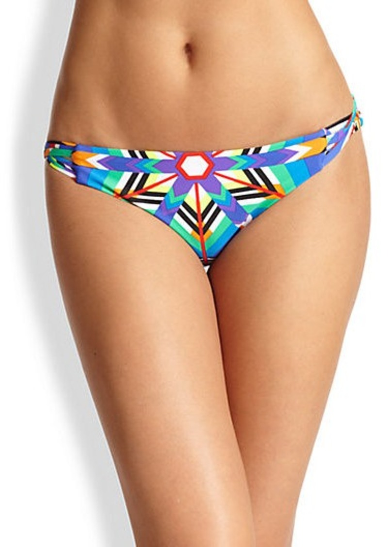 Mara Hoffman Kites Basket-Weave Bikini Bottom
