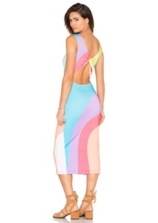 Mara Hoffman Midi Tie Back Dress