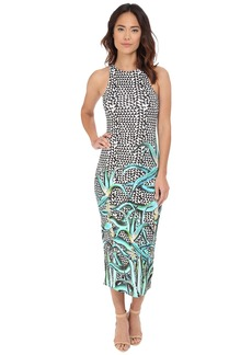 Mara Hoffman Modal Fitted Midi Dress